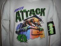 Vintage R.L. Stine Goosebumps Hamster Attack Sweatshirt Youth XL fits Adult S