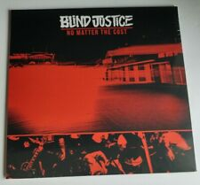 Blind Justice No matter the cost LP NEW sealed NJHC hardcore Mongoloids Krust