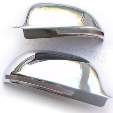 Chrome door wing mirror couvre les cas tasses caps audi A3 A4 A6 sline quattro Q3