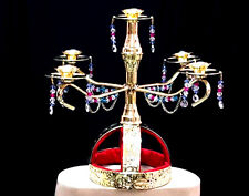 Belly Dance New Candle Holder ,Candelabra Shemadan 5 Candles Handmade In Egypt
