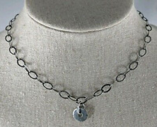 Silpada Sterling Silver Link Pendant Necklace N1665 Retired HTF RARE