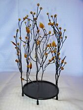 Partylite Metal Branches Tree Pillar Candle Holders