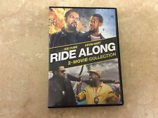 Ride Along: 2-Movie Collection (DVD, 2017, 2-Disc Set) Tested! Works!