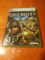 Call Of Duty 3 Microsoft Xbox 360 Activision