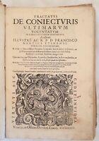 DIRITTO FRANCESCO MANTICA TRACTATUS DE CONIECTURIS ULTIMARUM VOLUNTATUM 1587