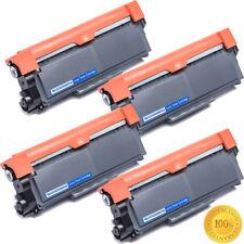 4 High Yield TN660 Black Toner Cartridge For Brother MFC-L2740DW L2700DW Printer