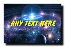 Space Stars Personalised Jumbo Magnet