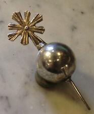 2,2 cm globo con croce metallo ihs per Bambinello statua accessori mondo santi