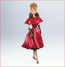 2011 Hallmark BARBIE Ornament RAVISHING IN ROUGE Fashion Model Collection