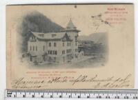 Cartolina Val d'Aosta- Gressoney St Jean Hotel -AO 4015
