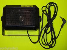 Loud speaker 5 watts extention pour PMR cb taxi téléphone mobile kits 6ftcable 725
