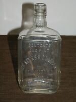 "VINTAGE 8 1/4"" HIGH HC MYERS COMPANY NEW YORK COVINGTON KY 1 PINT WHISKEY BOTTLE"