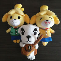 Animal Crossing New Horizons Shizue Isabelle KK Slider Plush Toy Stuffed Dolls