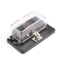 Boitier FUSIBLE Indicateur a Led + 4 Fusibles Câble Auto / Moto / Quad / Bateau