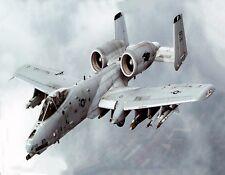 METAL REFRIGERATOR MAGNET A-10 Thunderbolt Warthog Flying Gun Jet Military Plane