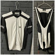 CAMPAGNOLO jersey 11 Speed Bib shorts cycling Bike sets white rare