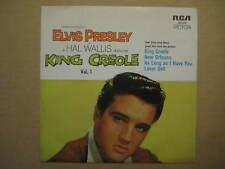 "ELVIS PRESLEY King Creole Vol.1 RARE AUSSIE 7"" EP 1978 - 20146 - RCA TAN LABELS"