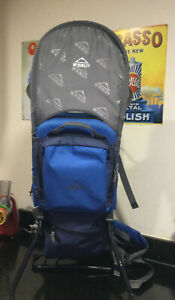 Baby Carrier Backpack + Waterproof Sunshade & Zipped Compartments McKinley kiddy