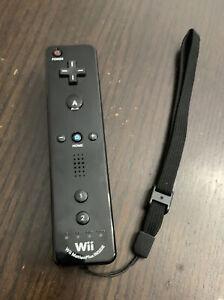 Official OEM Nintendo Wii & U Remote Motion Plus Controller RVL-036 Black Tested