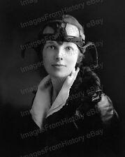 8x10 Print Amelia Earhart Portrait #AE73