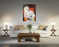 Le Reve The Dream by Picasso Reproduction Canvas Print Art Home Decor Wall Art