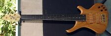 BOSSA 5 STRING FRETLESS BASS GUITAR VINTAGE FROM 90'S NEW GREAT OLD FACTORY !
