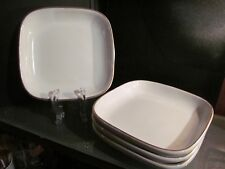 4 x AIR CANADA airline TRAY PLATE entree meal DISH casserole vintage VANDESCA