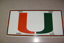 University of Miami Auto Tag