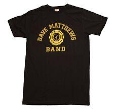 LICENSED Dave Matthews Band Collegiate Logo T-Shirt New Black HF#RSM-DVM-1001