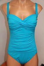 New La Blanca Swimsuit Bikini 1 one piece Sz 10 TUR
