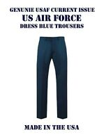 MEN'S 40XL US AIR FORCE USAF SERVICE DRESS UNIFORM BLUE 1620 PANTS TROUSERS EUC