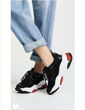 927622280679 Jeffrey campbell black white red Lo-Fi women s trainer sneakers