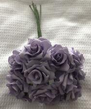 Lilac Foam Roses - 132 Individual Stems