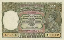 British India 100 Rupees King George VI 1937 P20 Reproduction
