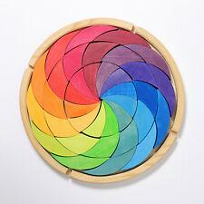 Grimm´s 43366 Bauspiel Farbenrad Regenbogen NEU