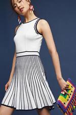 $408 Anthropologie Dali Sweater Dress NWT new size M white