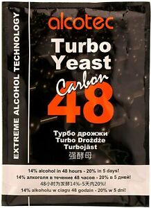 Alcotec Turbo Yeast,24,48,T3,Fruit and Frain,Wiskey,Rum,Vodka,Carbon,Pure Yeast