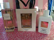 3 Victoria's Secret Bombshell Nights, 1 oz perfume Lotion & Mist Set, 8.4oz