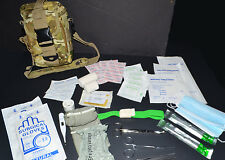 Trauma IFAK First Aid Kit - Medic Bag 60+ Supplies Multicam Camo MOLLE Equipped
