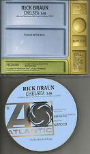 RICK BRAUN Chelsea Ultra Rare PROMO Radio DJ CD single 1997 USA MINT