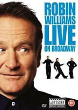 ROBIN WILLIAMS - LIVE ON BROADWAY - 2003 Stand-Up Comedy New Sealed Region 2 DVD