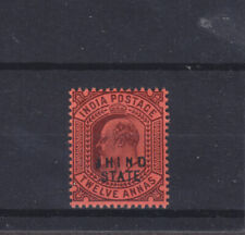 India Convention States Jind Kevii Sg 54 Mounted Mint
