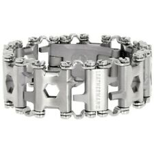 Tread Stainless Steel Multitool Bracelet Multi Tool Silver Free Shipping NEW3.05