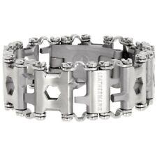 NewTread Stainless Steel Multitool Bracelet Multi Tool Silver Free Shipping 3.05