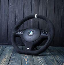 BMW OEM Custom Alcantara M Sport E46 M3 E39 M5 M  Steering Wheel Zhp 540i 330ci