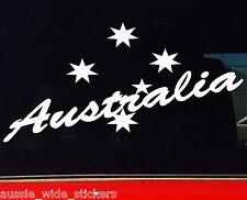 Australia + Southern Cross Patriotic Aussie Sticker JDM Car Ute 4x4 Decal