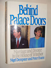 Behind Palace Doors Marriage and Divorce in the House of Windsor Evans, Dempster