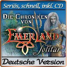 Die Chroniken von Emerland - Solitaire Deluxe - PC-Spiel - Solitär