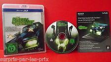 THE GREEN HORNET Blu-Ray 3D/2D  Version ALLEMANDE