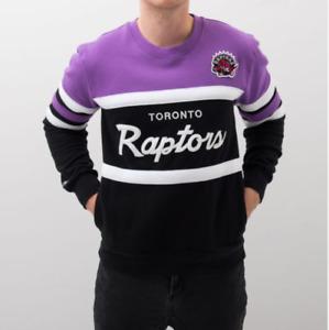 Toronto Raptors Mitchell & Ness  Men's NBA Head Coach Crew Sweatshirt